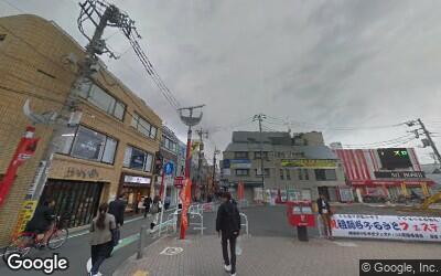 祖師ヶ谷大蔵駅北口前