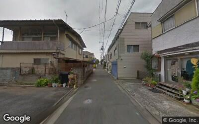 祖師ヶ谷大蔵駅北側の住宅街