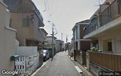 祖師ヶ谷大蔵駅南側の住宅街