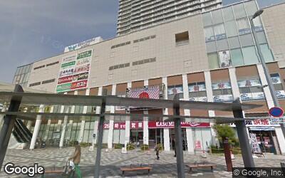 駅前のショッピングビル