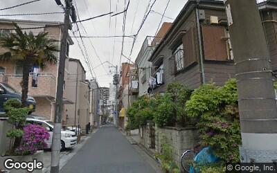 大島駅にある戸建てが密集する住宅街