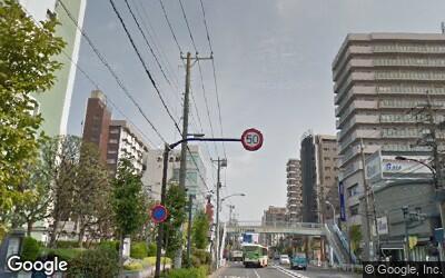 大島駅前の風景