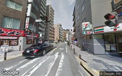 川崎駅東側の街並み
