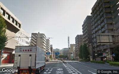 東海道沿いの街並み