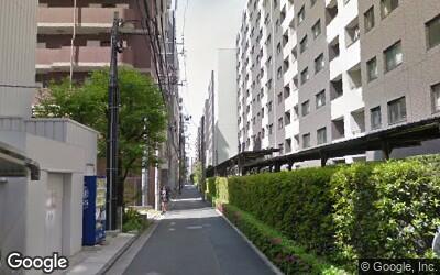 北側の住宅街
