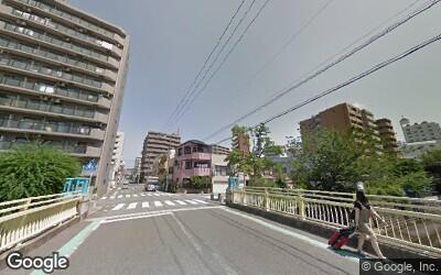 横浜駅方面の住宅街