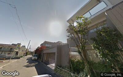 用賀駅西側の住宅街