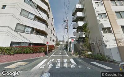 用賀駅東側の街並み