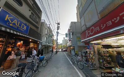 用賀駅東側の住宅街