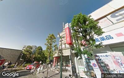 用賀駅西側の商店街
