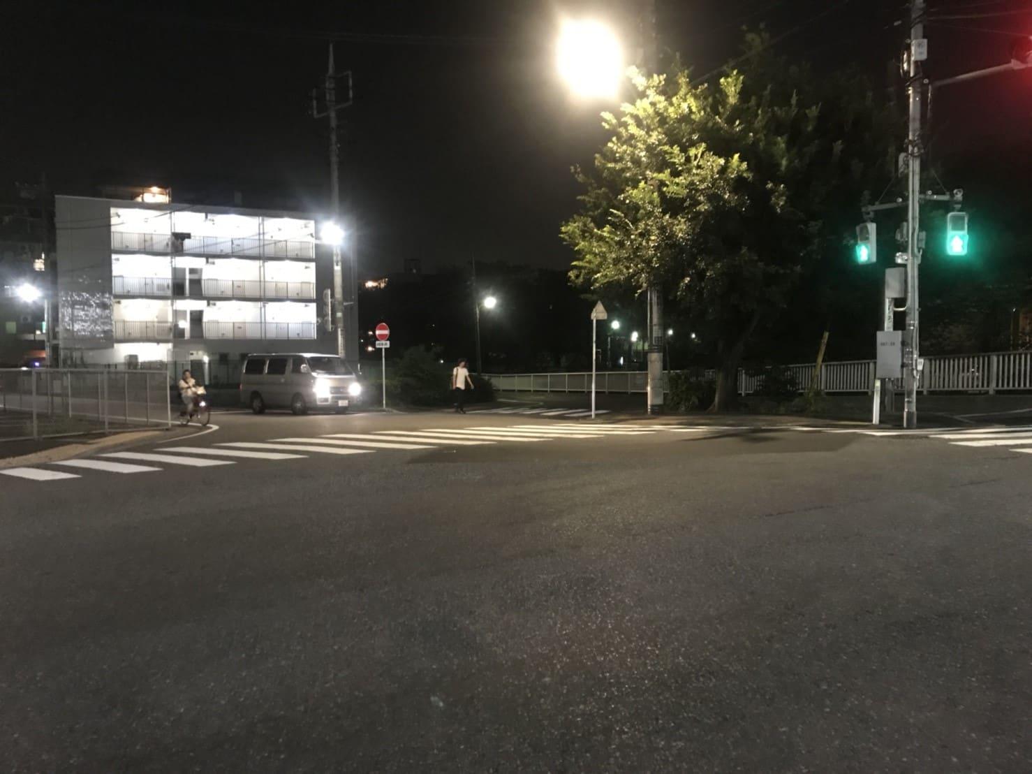 氷川台 交差点