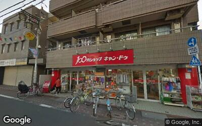 商店街の100円ショップ
