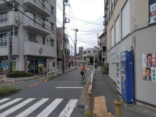 田無駅前の街並み