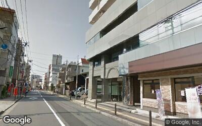 江古田駅南側の住宅街