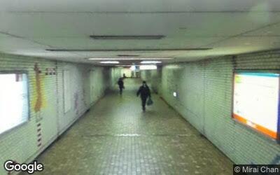 藤沢駅北側地下道