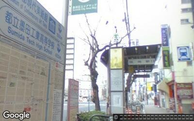 菊川駅前のバス停