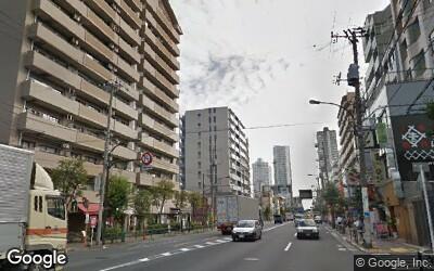 菊川駅南側の三ツ目通り