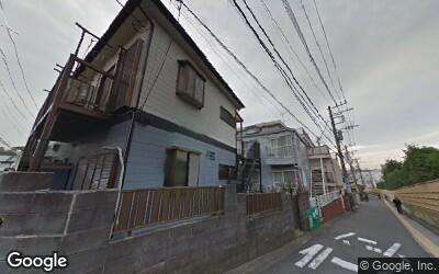 お寺周辺の住宅地