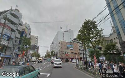 早稲田駅南側