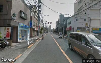 坂道の通り