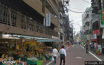 池上駅駅前通り商店街の八百屋