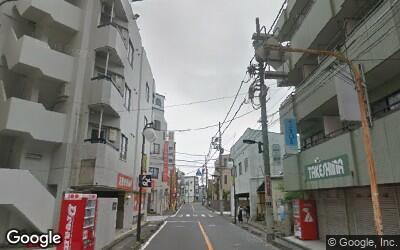 商店街通りの住宅