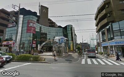 駅南口周辺の風景