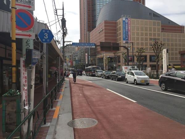 三軒茶屋駅の風景