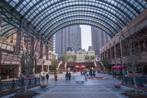 恵比寿ガーデンプレイスの風景