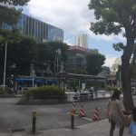 武蔵小杉駅北側の風景