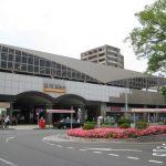 越谷駅東口の風景