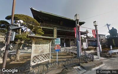 法華経寺赤門