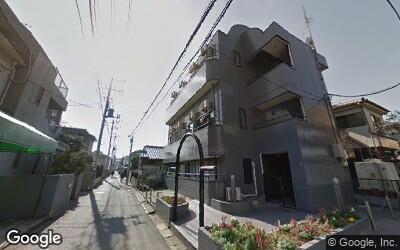 下総中山駅南口の住宅街