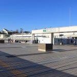 上野駅の風景