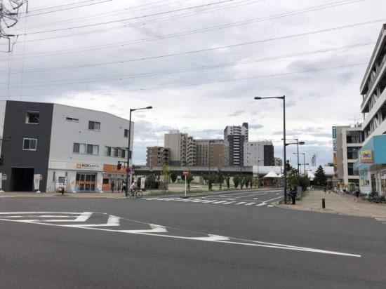 八潮駅近くの新しいマンション