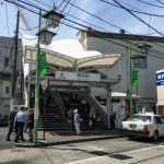 菊名駅の風景