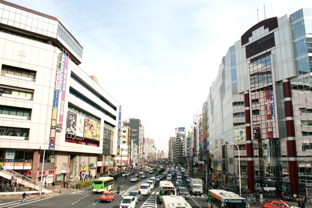 錦糸町の風景