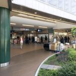 元住吉駅の風景