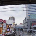 船橋駅前の風景