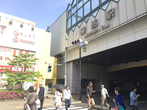 練馬駅の風景