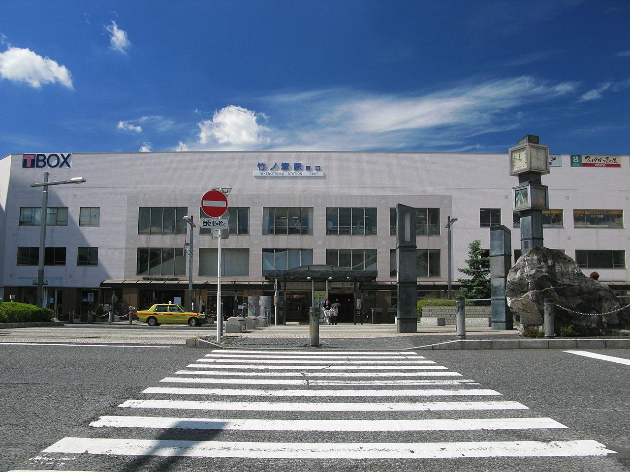 竹ノ塚の風景