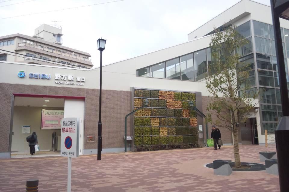 野方駅の風景