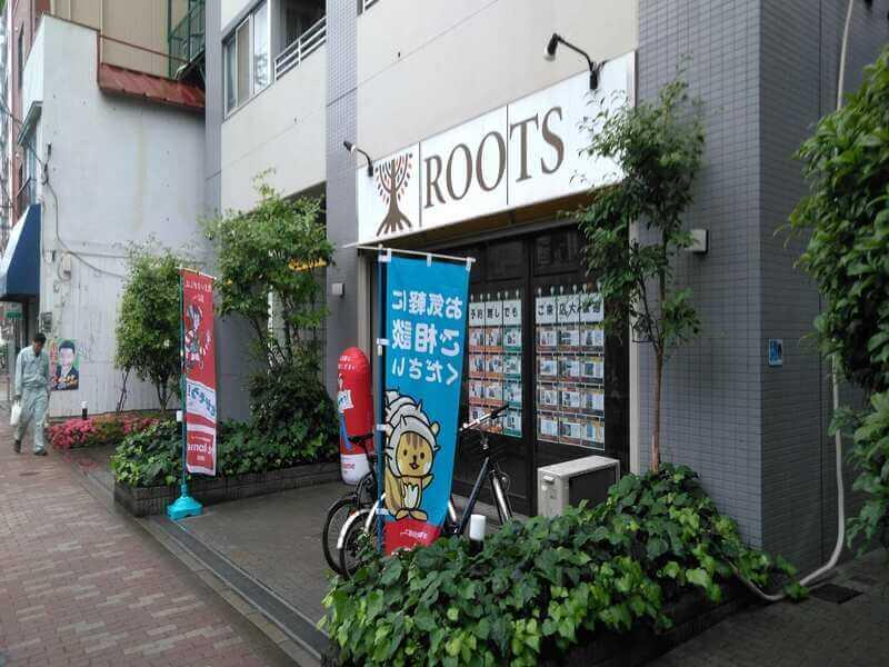 ROOTS菊川店の外観