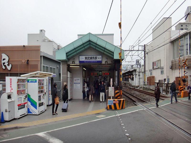 東武練馬駅の風景