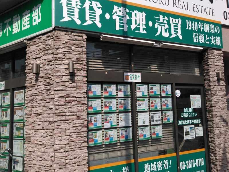(有)城北商事 不動産部の外観