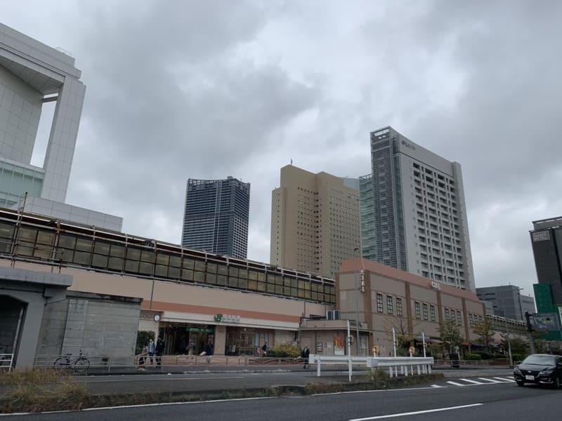 桜木町の風景