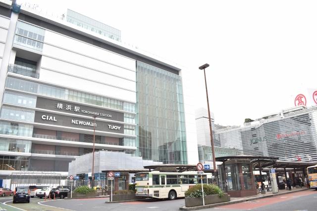 横浜駅の風景