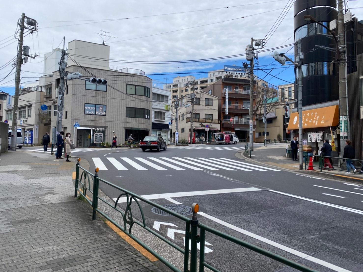 泉岳寺への道