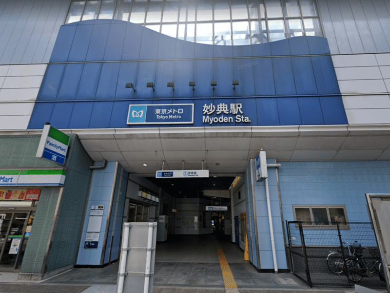 妙典駅の風景