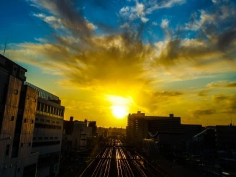 二俣川駅の風景
